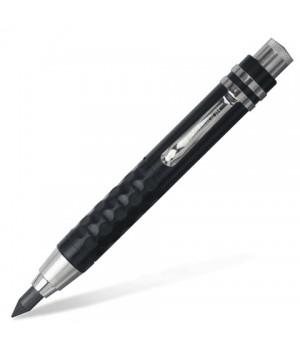 Карандаш цанговый для графита, мела, пастели 5,6 мм KOH-I-NOOR, 1 шт., металл/ пластмасса, корпус черный, точилка
