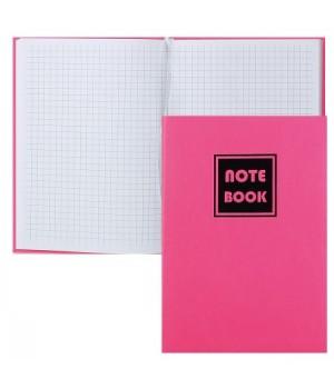 Книжка записная В6 (123*175) 80л тв обл 7Бц к/з поролон deVENTE Intenso ляссе 2052702 неон роз