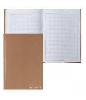 Книжка записная А5 (145*210) 100л тв обл 7Бц Бронзовый КЗФ51002905 бронз