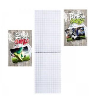 Блокнот А7 (62*100) 48л склейка обл мягк карт Яркая игра Б48-2163