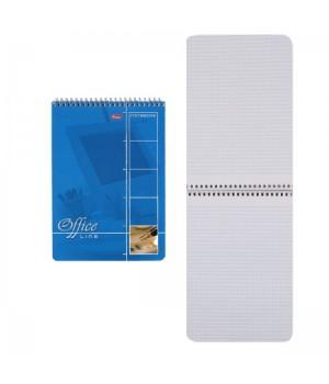 Блокнот А5 (145*205) 60л дв спир обл мягк карт Office Line 1569/60Б5В1сп