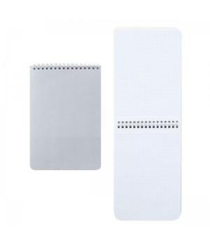 Блокнот А5 (145*205) 60л дв спир обл мягк карт Серебро 60Б5В1гр_14276