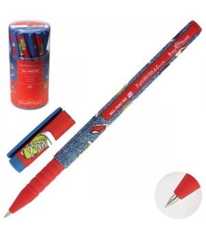 Ручка шар дет 0,5 FunWrite Кеды разноцветные 20-0212/27 син пл/уп