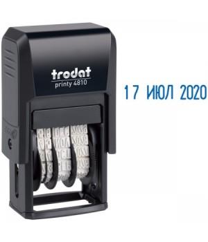Датер мини 20*4мм месяц цифрами TRODAT 4810В