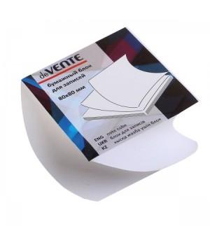 Бумага для заметок 8*8*4 спир бел офсет 80г/м 96% deVENTE 2012640/У59653 скл