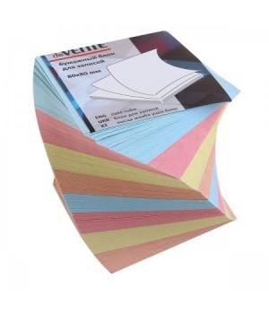 Бумага для заметок 8*8*8 спир 4цв deVENTE 2012638/У59651 скл