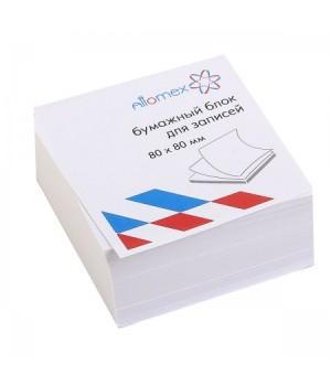 Бумага для заметок 8*8*4 куб бел офсет 65г/м 92% Attomex 2012643/У59656 не скл