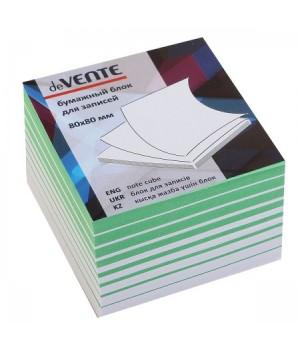 Бумага для заметок 8*8*5 куб 2цв deVENTE 2012632 не скл