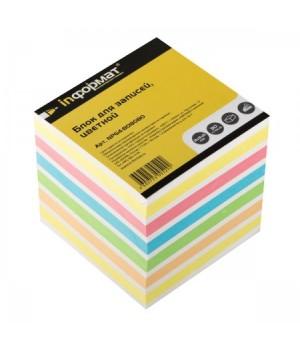Бумага для заметок 8*8*8 куб 4цв NPG4-808080 скл