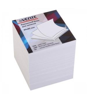 Бумага для заметок 8*8*8 куб бел офсет 80г/м 96% deVENTE 2012622/У59634 не скл
