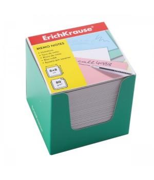 Бумага для заметок 8*8*8 куб бел ЕК 36987 зел карт подст
