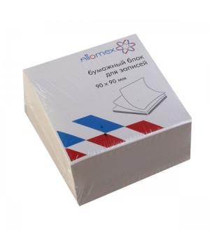 Бумага для заметок 9*9*5 куб газет 55-60г/м 70-80% Эконом 2012646/У59983 не скл