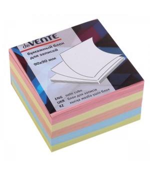 Бумага для заметок 9*9*5 куб цв deVENTE 2012628/У59640 не скл