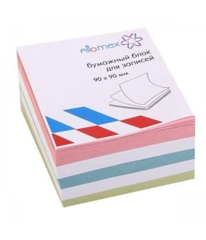 Бумага для заметок 9*9*5 куб цв Attomex 2012635 не скл