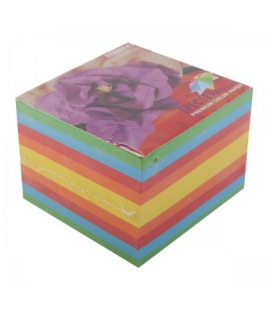 Бумага для заметок 9*9*7 Spectra Color 5цв 650л скл №82А/90