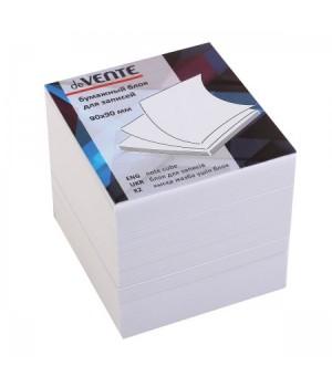 Бумага для заметок 9*9*9 куб офсет 80г/м 96% бел deVENTE 2012621 не скл