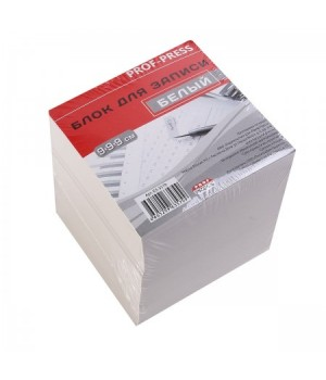 Бумага для заметок 9*9*9 куб бел 65гр Б3-3579