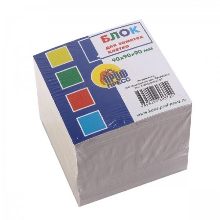 Бумага для заметок 9*9*9 куб Клетка газет 9785378005208 не скл