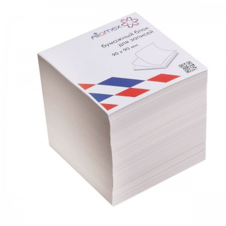 Бумага для заметок 9*9*9 куб газет Attomex 2012636 не скл