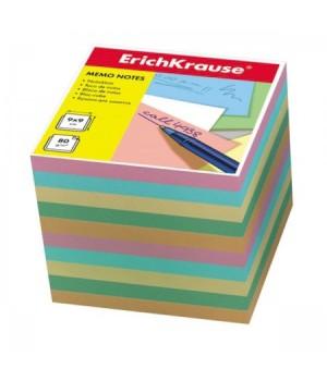 Бумага для заметок 9*9*9 куб цв ЕК 5140 ассорти