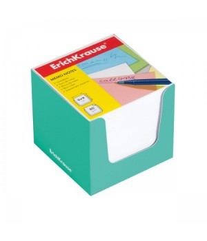 Бумага для заметок 9*9*9 куб бел ЕК 37009 зел карт подст