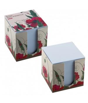 Бумага для заметок 9*9*9 куб Red on White карт подст бел LN9_10641 не скл