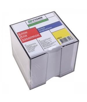 Бумага для заметок 8*8*8 куб бел в тонир подст ПВ22 не скл
