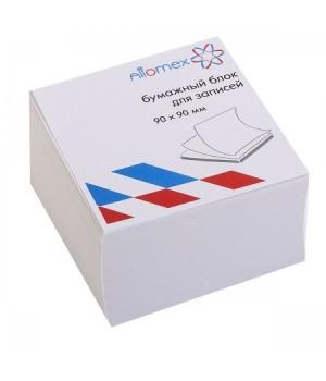 Бумага для заметок 9*9*5 куб офсет 65г/м 92% бел б/подст Attomex 2012637/У59650