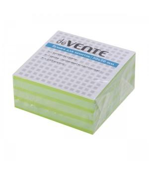 Бумага для заметок самокл 50*50 250л 2цв deVENTE 2010337 неон зел/пастел