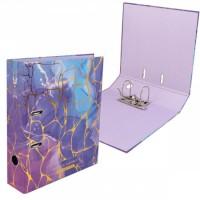 Регистратор А4, ширина корешка 75мм, ламинированный картон Violet Marble Violet deVENTE 3091907