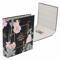 Регистратор А4, ширина корешка 75мм, картон с офсетным покрытием Flowers deVENTE 3090111