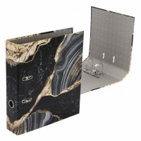 Регистратор А4, ширина корешка 75мм, картон с офсетным покрытием Marble deVENTE 3090118