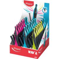 KID'Z Циркуль пластиковый с универсальным держателем, карандаш в комплекте, с безопасной иглой