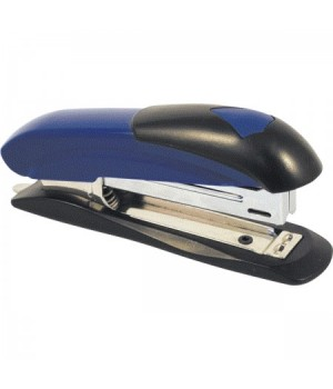 Степлер №10 на 12л метал пласт Attomex 4142372 син/черн