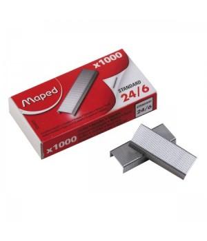 Скобы для степлера №24/6 Maped 324405