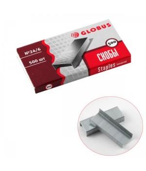 Скобы для степлера №24/6 оцинк C24/6-500