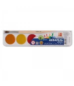 Акварель 6цв Классика 19С 1283-08 медов пласт/уп с/к