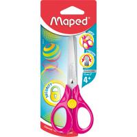 SECURITY 3D Ножницы 13 см, эргономичные кольца специально для детской руки, в блистере, симметричные