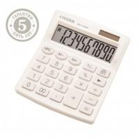 Калькулятор настольный 10 разрядов Citizen SDC 810 NRWHE двойное питание 125*105*20мм белый