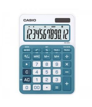 Калькулятор Casio (12 разр) MS-20NC-BU-S-EC 149*105*22мм гол