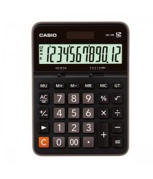 Калькулятор Casio (12 разр) DX-12B-W-EC 175*129*33мм черн