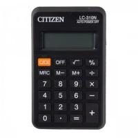 Калькулятор карм Citizen (8 разр) LC310N 113*69*23мм черн