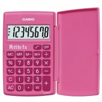 Калькулятор карм Casio (8 разр) LC-401LV-PK-S-A-EP 120*75*11мм роз
