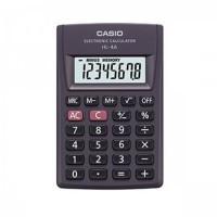Калькулятор карм Casio (8 разр) HL-4A-S-EP 87*56*9мм черн