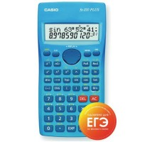 Калькулятор инженер Casio (10+2 разр) FX-220PLUS-S-EH 155*78*19мм (181 функц) голуб