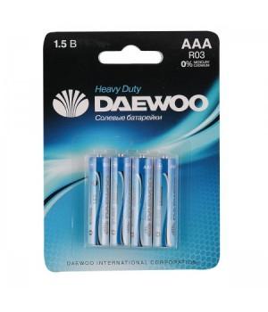 Батарейка Daewoo R03 4*BL