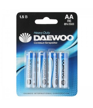 Батарейка Daewoo R06 4*BL