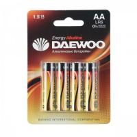Батарейка Daewoo LR06 4*BL