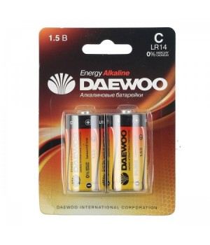 Батарейка Daewoo LR14 2*BL