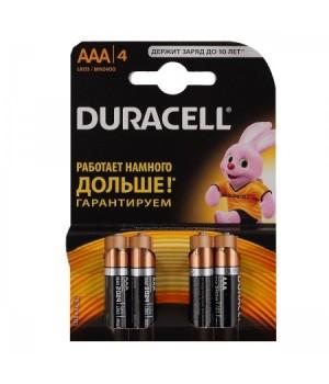 Батарейка Duracell LR03 BASIC/NEW BL-4